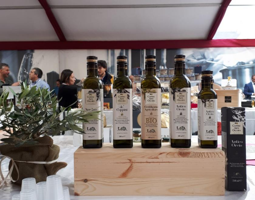Premio WineHunter Award 2018 - Coppini Arte Olearia